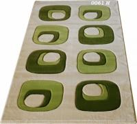 Правоъгълни килими с десен в зелено 200х300см