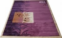 Гладки машинни килими цвят люляк