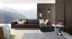 луксозни дизайнерски дивани с лежанка