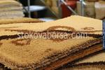 Машинни килими в бежево-кафявата, оранжевата, червената и зелената гама от полипропилен