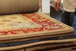 Изработка на ръчно вързани килими с вълнен тъфтинг 100% вълна